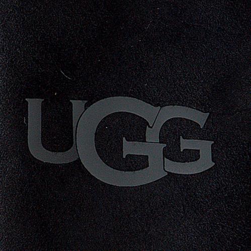 UGG Gants SHEEPSKIN LOGO MITTEN en noir