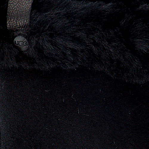 UGG Gants SHORTY GLOVE W/TRIM en noir